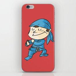 Kamae de ninjutsu  la postura del ninja iPhone Skin