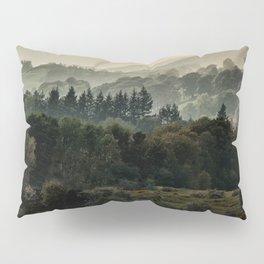 Foggy morning in Lake District Pillow Sham