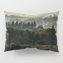 Foggy morning in Lake District Pillow Sham