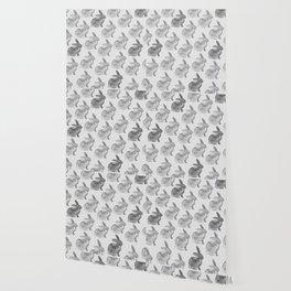 Watercolor Bunnies 1N by Kathy Morton Stanion Wallpaper