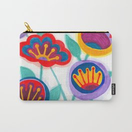 raw flower garden Carry-All Pouch