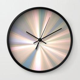 Cool groovy sun rays Wall Clock