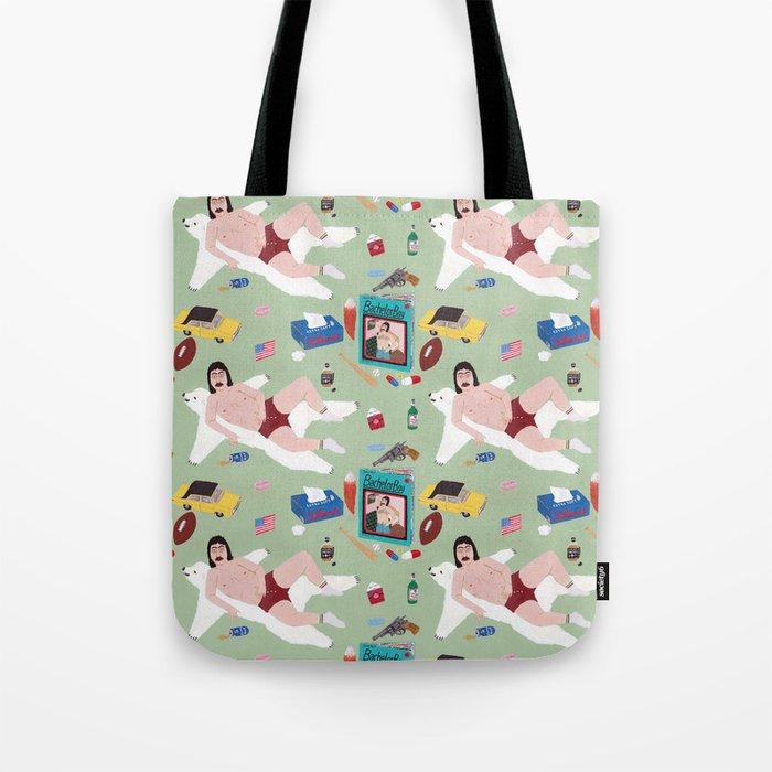 Sexy Bachelor Pattern Tote Bag