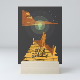 BOOKS Collection: The Great Gatsby Mini Art Print