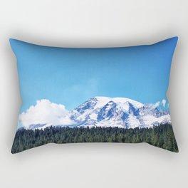 Mount Rainier, Washington Rectangular Pillow