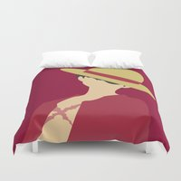 luffy Duvet Covers featuring Luffy by Polvo