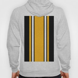 Pittsburgh Black And Yellow Abstract Hoody