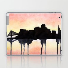 San Francisco Watercolour skyline Laptop & iPad Skin