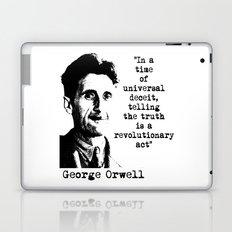 George Orwell Laptop & iPad Skin