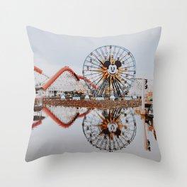 Disneyland / California Throw Pillow