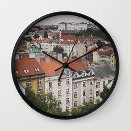 Views of Prague II Wall Clock