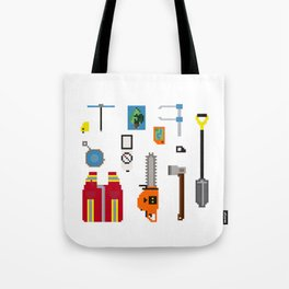 Forestry Tools Tote Bag