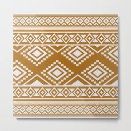 African Mud Cloth Print no.2 Metal Print