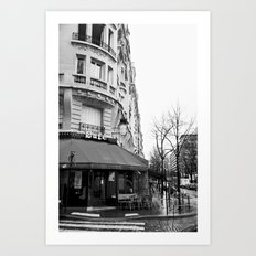 Parisian Cafe Art Print