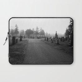 Dark Cemetery Laptop Sleeve