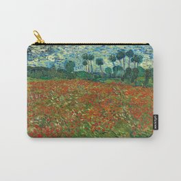 Vincent Van Gogh Poppy Field Carry-All Pouch