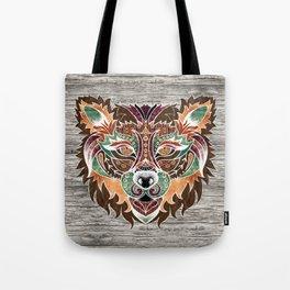 Grr! (Bohemian Bear) Tote Bag