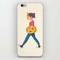 emoji iPhone & iPod Skins featuring Emoji Expression by DanniSketches