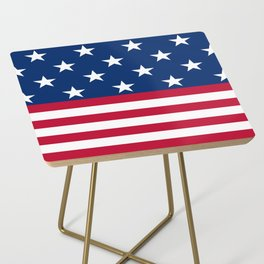US Flag Side Table