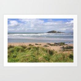 Bantham and Burgh Island Art Print