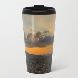 Amazing hike (sunset) Travel Mug