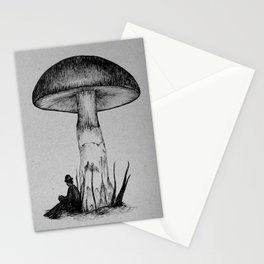 Under the Toadstool Stationery Cards