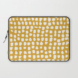 Dots / Mustard Laptop Sleeve