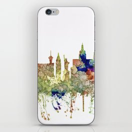 Las Vegas, Nevada Skyline - Faded Glory iPhone Skin