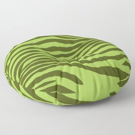 Animal Waves (Green Mood) Floor Pillow