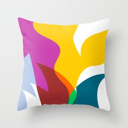 The Sydney Icon Abstract Illustration Throw Pillow
