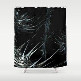 Tendrils Crossing Shower Curtain