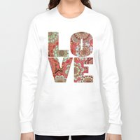 baroque Long Sleeve T-shirts featuring Baroque Obsession by micklyn