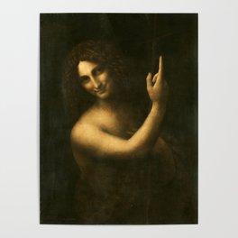 Leonardo da Vinci - Saint John the Baptist Poster