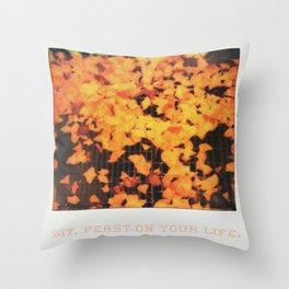 Love After Love Throw Pillow