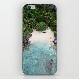 Isolated Beach iPhone Skin