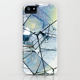Starry Night Gone Wild iPhone Case