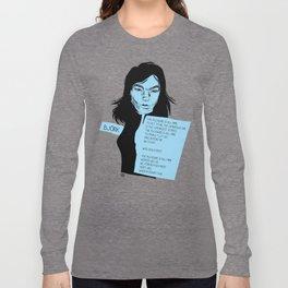 musicstrokes_bjork Long Sleeve T-shirt