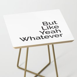 That Vocabulary Side Table