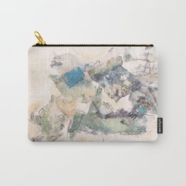 Newspaper City  Carry-All Pouch
