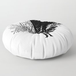 Life And Death Floor Pillow