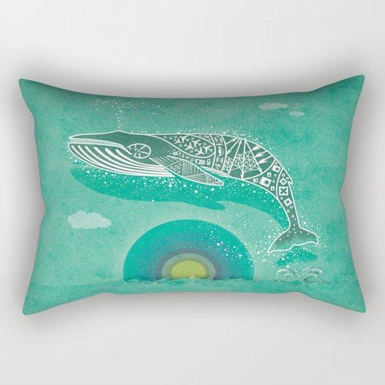 Whale Future Rectangular Pillow