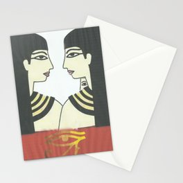 love to wuman Stationery Cards