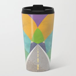 Road to Somewhere Metal Travel Mug