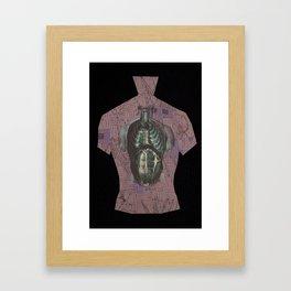 Skin1 Framed Art Print