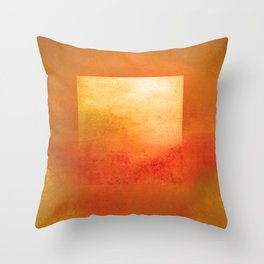 Square Composition III Throw Pillow