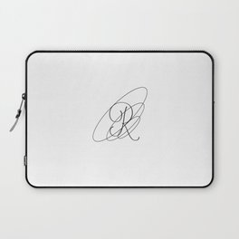R Typeography Laptop Sleeve