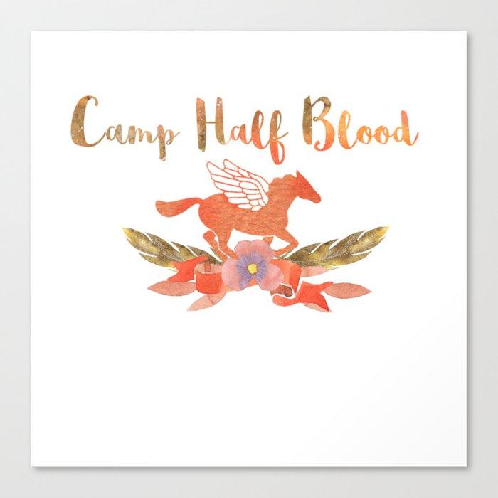 camp half blood v1 Canvas Print