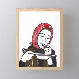 Face Lift Framed Mini Art Print