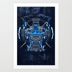 Bad Wolf Radio Art Print