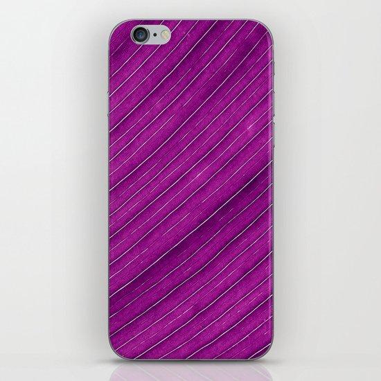 purple banana leaf iPhone & iPod Skin
